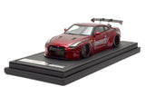 Ignition Models 1/43 1:43 LB-WORKS GT-R R35) Red Metallic - IG0788