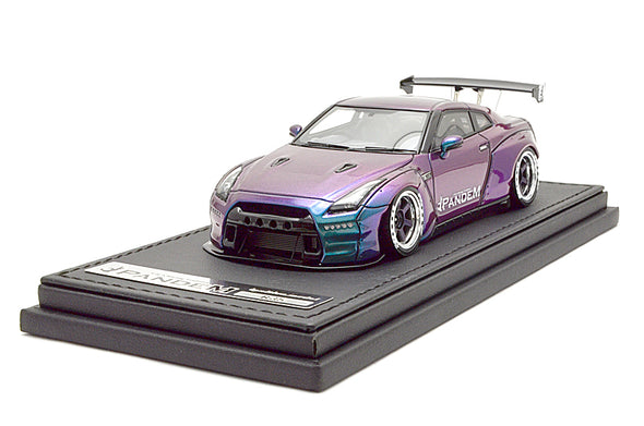 Ignition Models 1/43 PANDEM R35 GT-R Purple/Green - IG1154