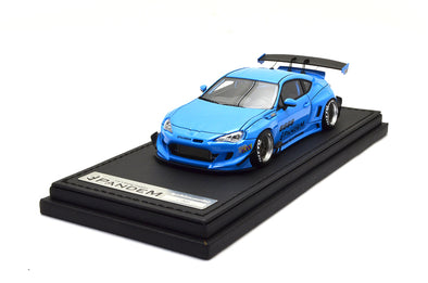 Ignition Models 1/43 PANDEM TOYOTA 86 V3 Blue Estimatedly - IG1166