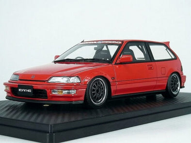 Ignition Models 1/18 Honda CIVIC (EF9) SiR Red #IG1293