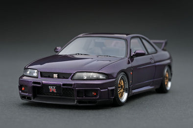 Ignition Models 1/43 1/43 Nissan Skyline GT-R (R33) V-spec Midnight Purple - IG1368