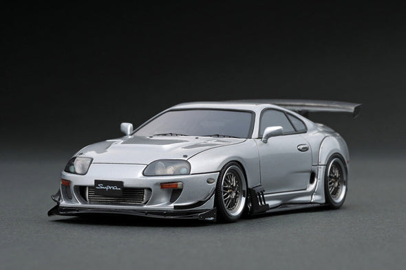Ignition Models 1/43 Toyota Supra (JZA80) RZ  Silver  - IG1428
