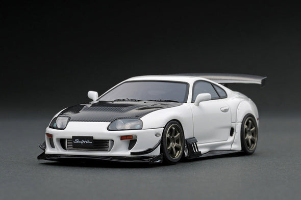 Ignition Models 1/43 Toyota Supra (JZA80) RZ White  - IG1430