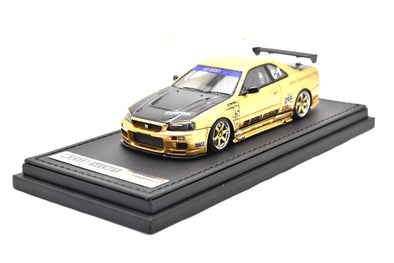Ignition Models 1/43 TOP SECRET GT-R (BNR34) Gold  - IG1482