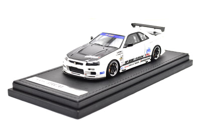 Ignition Models 1/43 TOP SECRET GT-R (BNR34) White  - IG1483