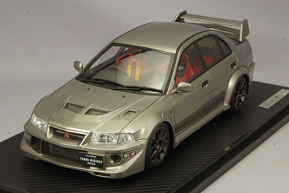 Ignition Models 1/18 Mitsubishi Lancer Evolution VI TME Silver  #IG1554