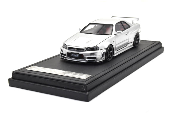 Ignition Models 1/43 Nismo R34 GT-R Z-tune Silver - IG1610