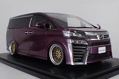 Ignition Models 1/18 Toyota Vellfire (30) ZG Purple Metallic #IG1674