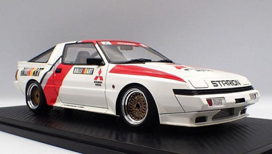 Ignition Models 1/18 Mitsubishi STARION 2600 GSR-VR (E-A187A) White/Red/Silver  #IG1795