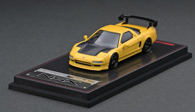 IGNITION MODELS 1/64 Honda NSX (NA1) Matte Yellow,  GT Wing - IG1945