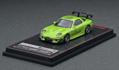 IGNITION MODELS 1/64 Mazda RX-7 (FD3S) RE Amemiya Green Metallic - IG1951