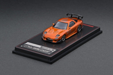 IGNITION MODELS 1/64 Mazda RX-7 (FD3S) RE Amemiya Orange Metallic - IG1950