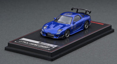 IGNITION MODELS 1/64 Mazda RX-7 (FD3S) RE Amemiya Blue Metallic - IG1947