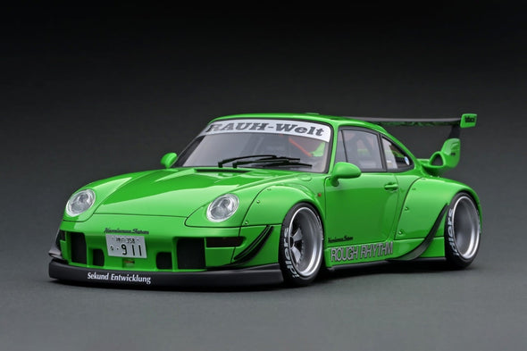 Ignition Models 1/43 RWB 993 Green Rough Rhythm  #IG2170