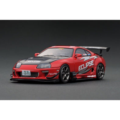 Ignition Models 1/43 Toyota Supra (JZA80) RZ ORIDO-STREET Ver.2  Red  - IG1977