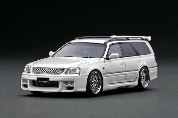 Ignition Models 1/43 Nissan STAGEA 260RS (WGNC34) Pearl White - IG2076