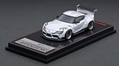 Ignition Models 1/64 Pandem Supra (A90) Pearl White, D1 Wing - IG2333