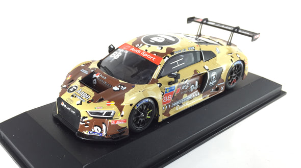 Tarmac Works x Minichamps 1/43 2016 Audi R8 LMS Cup - Shanghai Round AAPE by A Bathing Ape Dessert Camouflage TM013