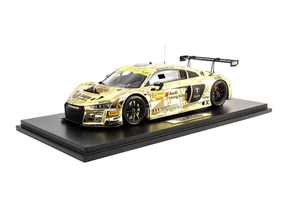 Tarmac Works 1/18 Audi R8 LMS FIA GT World Cup Macau 2016 AAPE / Audi HK Marchy Lee  - T18-004-MGP16ML