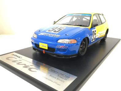 Tarmac Works 1/18 Spoon Honda Civic EG6 Spoon Gr.A Racing - T01-SP
