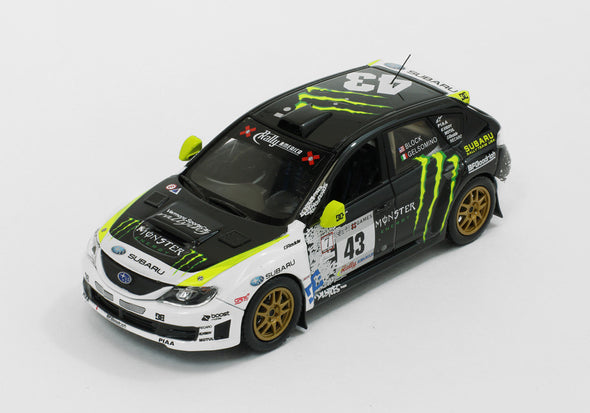 IXO Model J Collection 1/43 Subaru Impreza WRX STi - K.Block Rally USA 2008 JC275