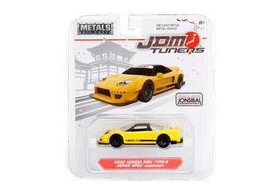 JADA 1/64 JDM Tuners -  2002 NSX Type R Japan Spec Widebody Yellow