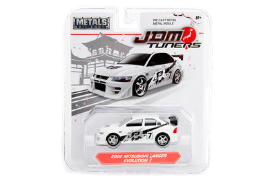 JADA 1/64 JDM Tuners - 2002  Lancer Evolution VII White