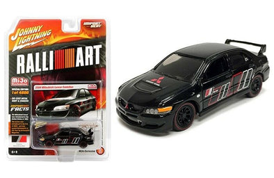 Johnny Lighting 1/64 Mijo Mitsubishi 2004 Lancer Ralliart - JLCP7168