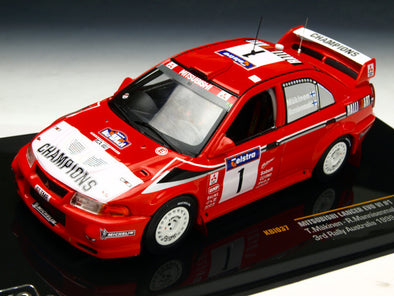 IXO Models 1/43 Mitsubishi Lancer evolution VI 99 Rally Australia Winner #1 - KBI037