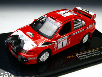 IXO Models 1/43 Mitsubishi Lancer evolution VI 99 Rally NEW ZELAND Winner #1 - KBI038