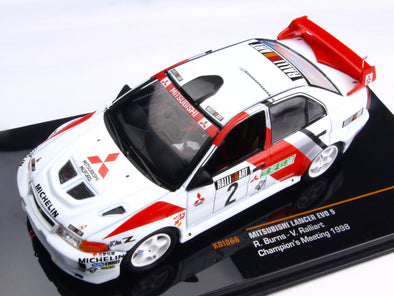 IXO Models 1/43 Mitsubishi Lancer Evo V Rally 1998 #2 Champions Meeting - KBI066