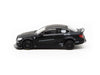 KJ Miniatures 1/64 LBWK Mercedes-Benz C63 Coupe Matte Black - KJ64001BK