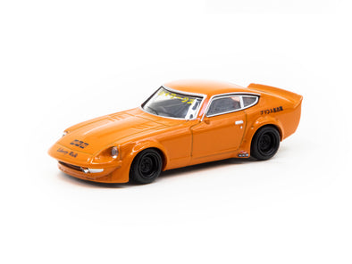 KJ Miniatures 1/64 LBWK FairLady S30 Metallic Orange - KJ64003OR
