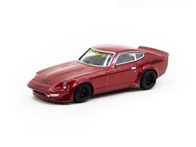 KJ Miniatures 1/64 LBWK FairLady S30 Metallic Red - KJ64003R