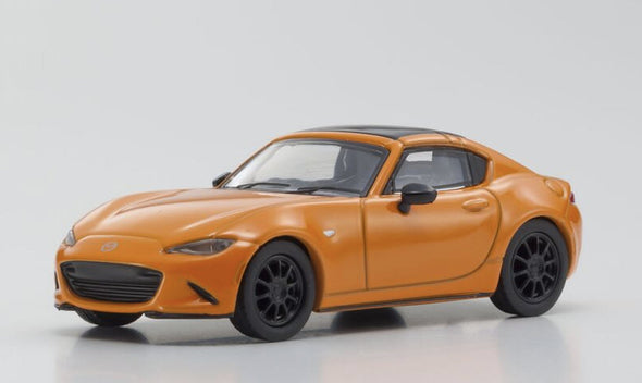 Kyosho 1/64 Mazda Roadster RF Orange 30th anniversary Edition - KS07068A8