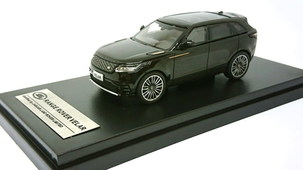 LCD Models 1/64 2018 Land Rover Range Rover Velar First Edition (Black)
