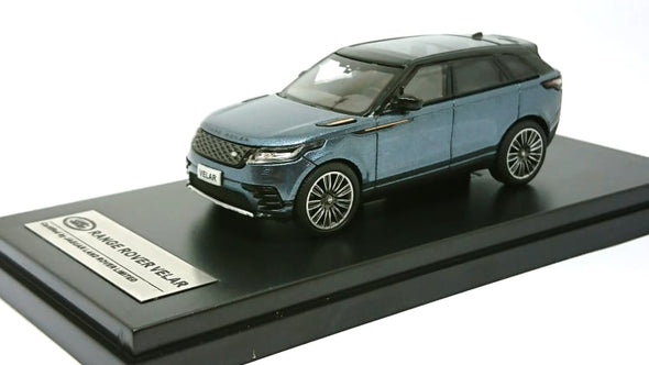LCD Models 1/64 2018 Land Rover Range Rover Velar First Edition (Blue)