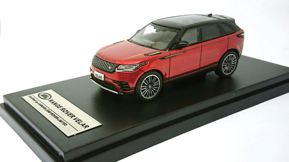 LCD Models 1/64 2018 Land Rover Range Rover Velar First Edition (Red)