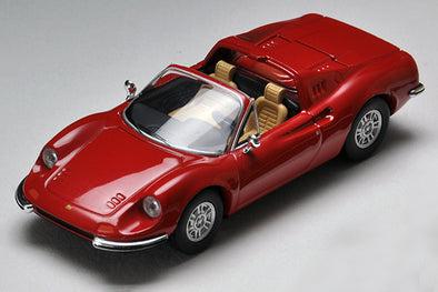 Tomica Limited Vintage 1/64 Ferrari Dino 246 GTS (RED)