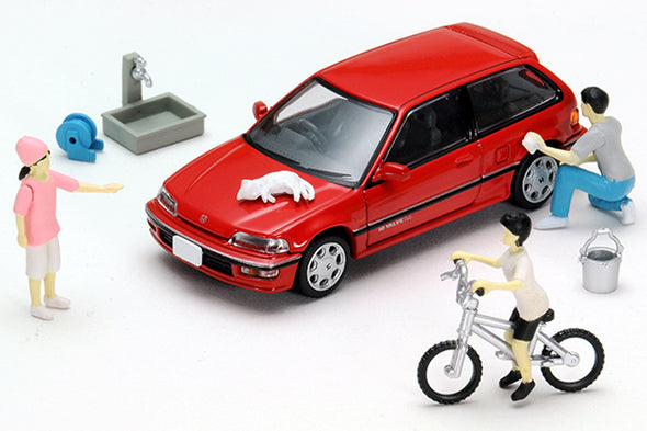 Tomica Limited VINTAGE NEO Diocolle 64 # Car Snap 02a Car Washing