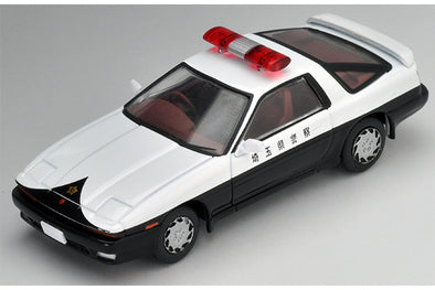 Tomica Limited Vintage NEO 1/64 Toyota Supra 3.0 GT Japanese Police Car - LV-N140a