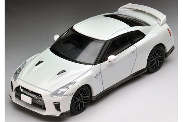 Tomica Limited Vintage Neo 1/64 TLV-N148c Nissan GT-R Premium Edition 2017 Model (Storm White)