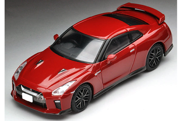 Tomica Limited Vintage Neo 1/64 TLV-N148d Nissan GT-R Premium Edition 2017 Model (Vibrant Red)