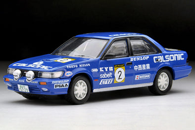 Tomica Limited Vintage NEO 1/64 Nissan Bluebird SSS-R Calsonic #2 - LV-N185c