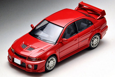 Tomica Limited Vintage Neo 1/64 Mitsubishi Lancer Evolution V GSR (Red) - LV-N187b