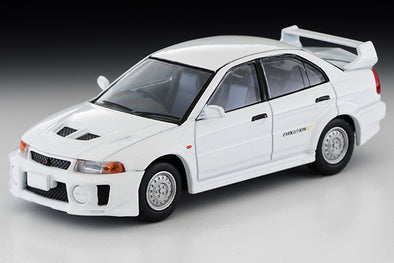 Tomica Limited Vintage Neo 1/64 Mitsubishi Lancer Evolution V RS (White) - LV-N187c