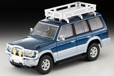 Tomica Limited Vintage Neo 1/64 MITSUBISHI PAJERO VR with options Blue/Silver - LV-N206a