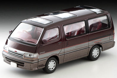 Tomica Limited Vintage Neo 1/64 Toyota HIACE Super Custom Dark red/Brown -  LV-N208b