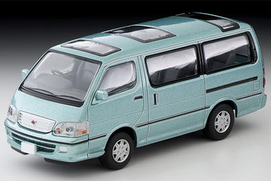 Tomica Limited Vintage Neo 1/64 Toyota HIACE Wagon Super Custom G (Mint Green) -  LV-N216b