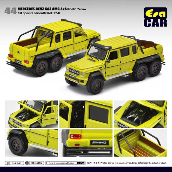 ERA CAR 044 Mercedes-Benz G63 AMG 6x6 1st Special Edition (Kinetic Yellow)